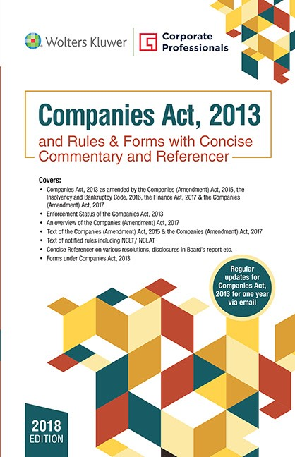 Fifth Edition, Companies Act, 2013 and Rules & Forms
