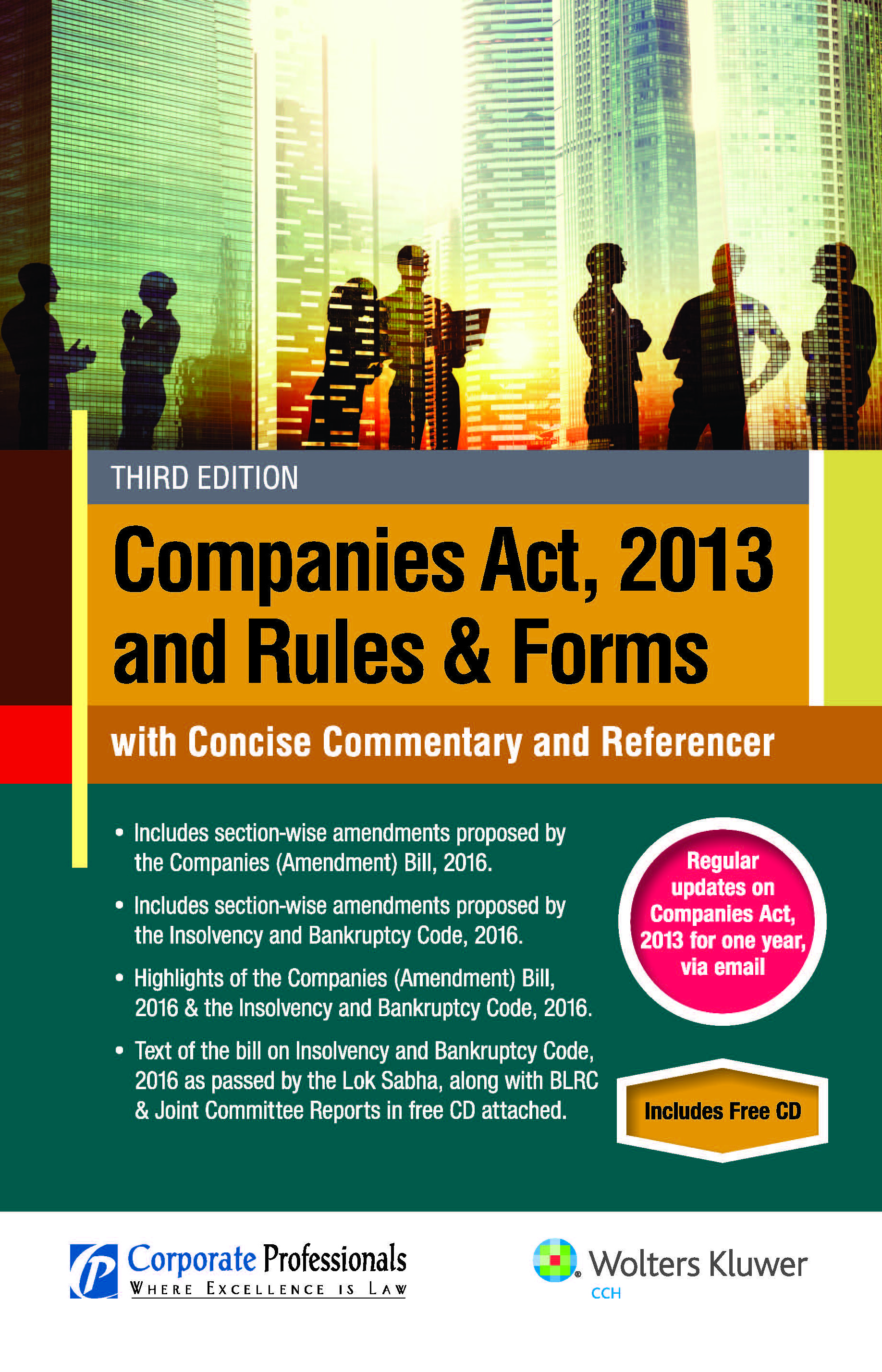 Book on Second Edition, Companies Act, 2013 and Rules & Forms